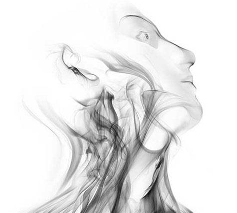 fumaça cabeça